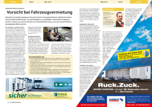Stragü 05/2012, Dr. Schärmer – Vorsicht bei Fahrzeugvermietung