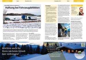 Stragü 12/2012, Dr. Schärmer – Haftung bei Fahrzeugdefekten