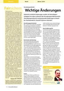 Stragü 01/2013, Dr. Schärmer – Änderungen Verwaltungsstrafrecht