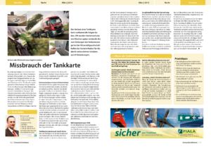 Stragü 03/2013, Dr. Schärmer – Missbrauch der Tankkarte