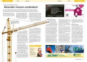 Stragü 05/2014, Dr. Schärmer – Absender müssen umdenken