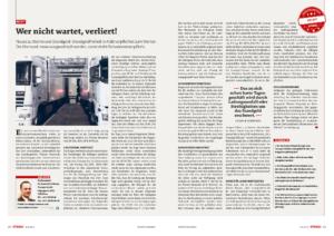 Stragü 07/2014, Dr. Schärmer – Storno und Standgeld