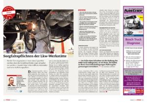 Stragü 01/2015, Dr. Schärmer – Sorgfaltspflichten der LKW-Werkstätte