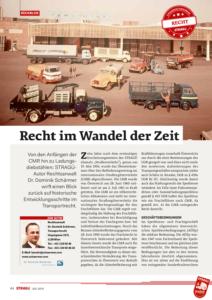 Stragü 07/2016, Dr. Schärmer – Recht im Wandel der Zeit
