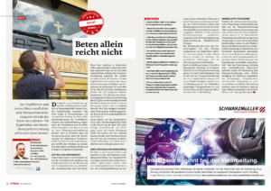 Stragü 08/2015, Dr. Schärmer – Eigenheiten der Warentransportversicherung