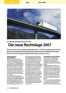 Stragü 2007, Artikelsammlung, Dr. Schärmer