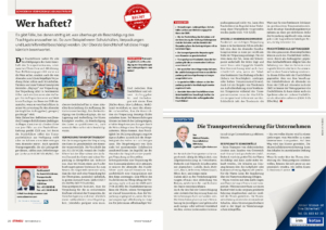 Stragü 11/2016, Dr. Schärmer – Schaden an Verpackung/Ladungsträger, Wer haftet?