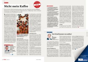 Stragü 03/2017, Dr. Schärmer – Nicht mein Kaffee – Steuerbestimmungen