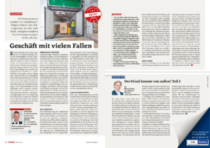 Stragü 04/2017, Dr. Schärmer – Geschäft mit vielen Fallen