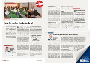 Stragü 05/2017, Dr. Schärmer – Noch mehr Totsünden! – Risikoeinstufungssystem