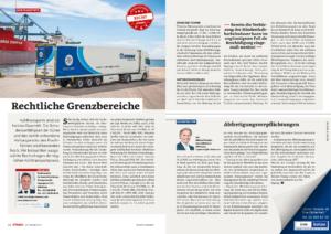 Stragü 09/2017, Dr. Schärmer – Rechtliche Grenzbereiche