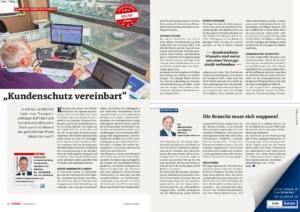"""Stragü 10/2017, Dr. Schärmer – """"Kundenschutz vereinbart"""""""