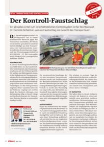 Stragü 05/2018, Dr. Schärmer – Urteil zu innerbetrieblichen Kontrollsystemen