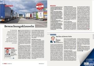 Stragü 12/2018, Dr. Schärmer – Bewachungsklauseln in Transportaufträgen