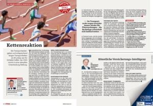 Stragü 03/2019, Dr. Schärmer – Transportketten – wer haftet für Schäden