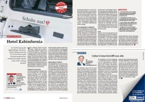 Stragü 05/19, Dr. Schärmer – Hotel Kabinfornia –  Klarstellung der EU-Kommission zur Strafenpraxis bei der im Fahrzeug verbrachten Wochenruhe