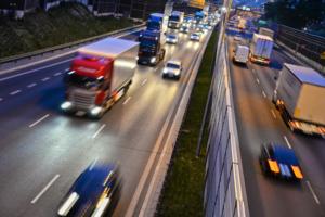 Nacht 60er Autobahn