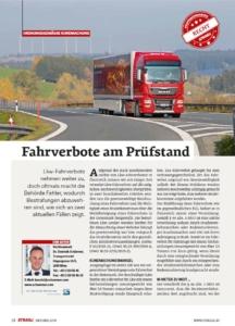 Stragü 10/2019, Dr. Schärmer – Fahrverbote auf dem Prüfstand