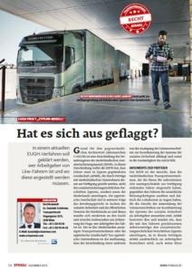 """Stragü 12/2019, Dr. Schärmer – """"Ausflaggen"""" – rechtsmissbräuchlich? EUGH prüft!"""