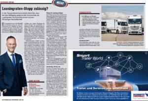 Transporteur 04/20, Dr. Schärmer  – Leasingraten-Stopp zulässig?