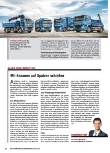 Transporteur 04/20, A. Miskovez – Mit Kanonen auf Spatzen schießen