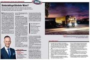 Transporteur 10/20, Dr. Schärmer – Aufklärungspflichten des Absenders bei diebstahlsgefährdeter Ware