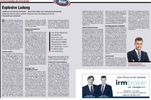 Transporteur 11/20, L. Blaschon – Explosive Ladung! Elektroschrott zerstört Auflieger – Absender haftet!