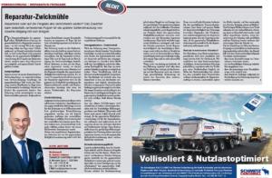 Transporteur 08/21 – Dr. Schärmer – Zwickmühle – reparieren oder auf Freigabe des Versicherers warten?